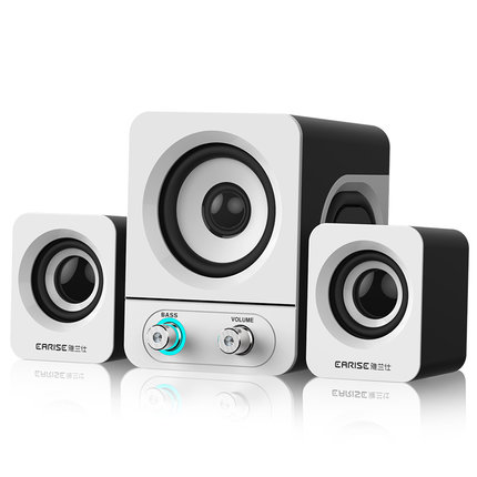 Wireless mini portable subwoofer bluetooth speakers with mobile phone, computer, radio stereo