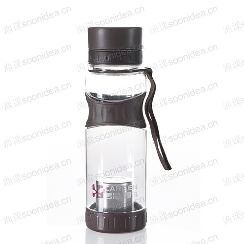 Outdoor sports kettle double plastic cup